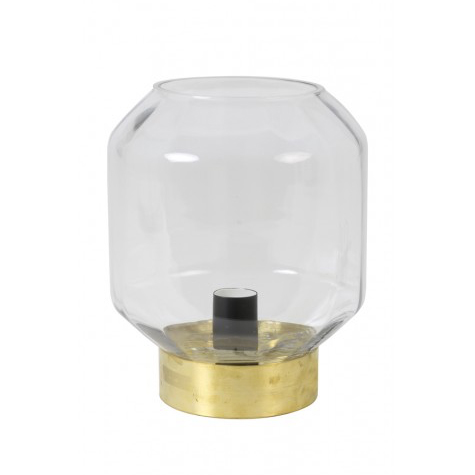 Ofin Table Lamp Clear Glass Copper
